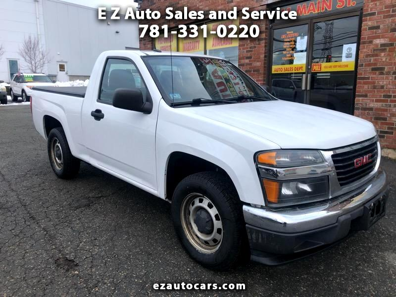 GMC Canyon Work Truck 2WD 2012