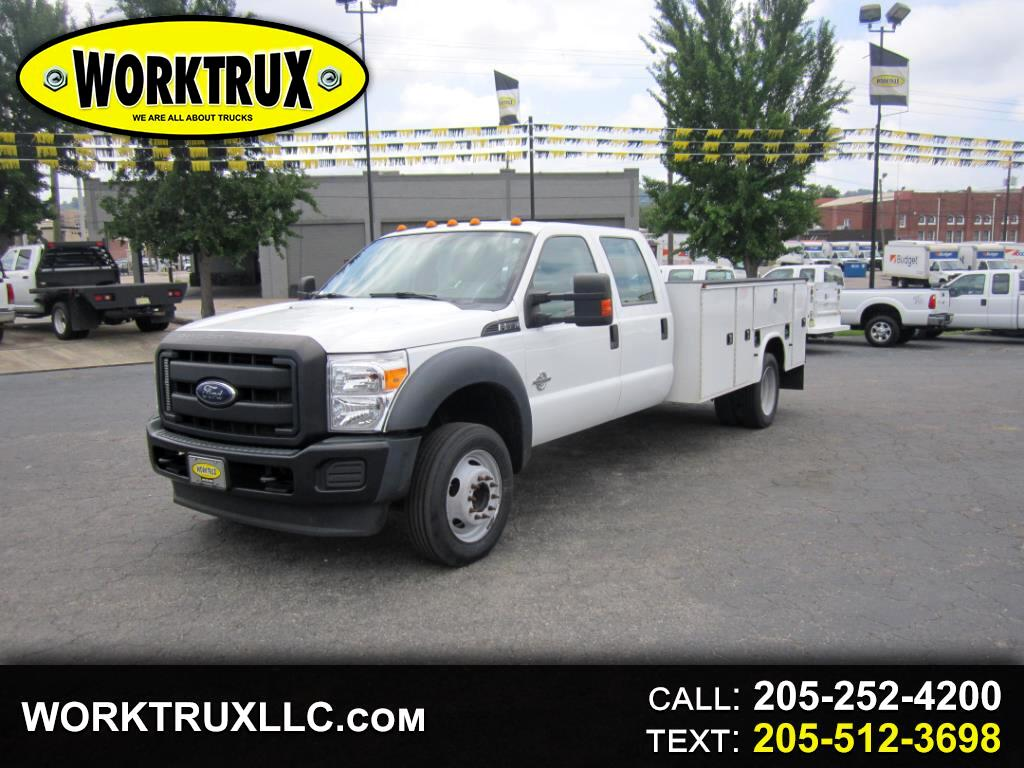 2015 Ford Super Duty F-550 DRW 2WD CREW CAB 11FT UTILITY BED