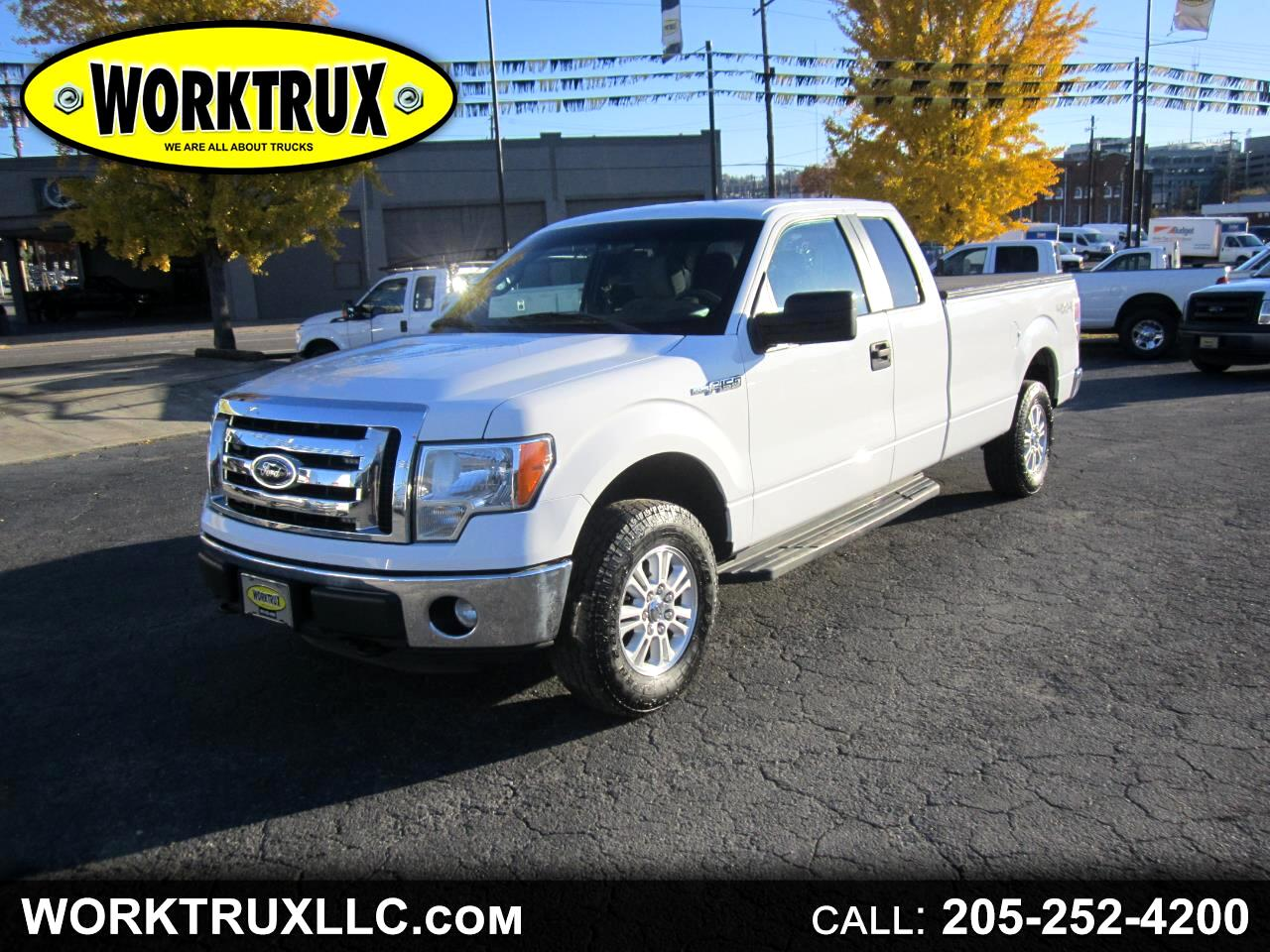 2012 Ford F-150 4WD SuperCab 163