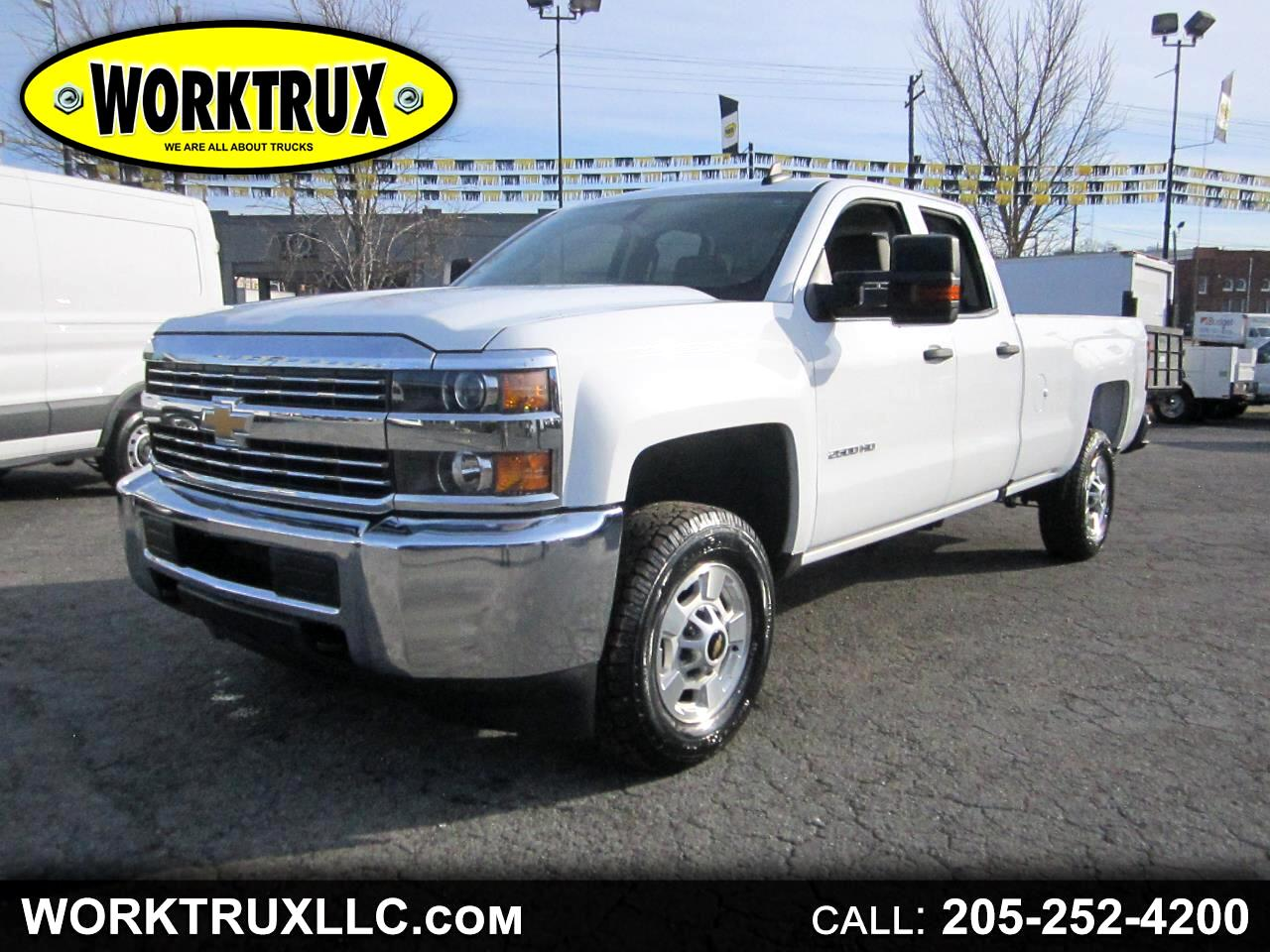 "2016 Chevrolet Silverado 2500HD 2WD Double Cab 158.1"" Work Truck"