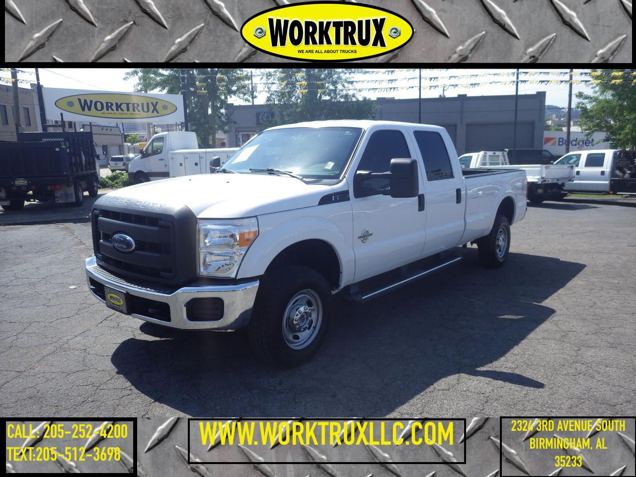 2015 Ford Super Duty F-350 SRW XL 4WD Crew Cab 8' Box