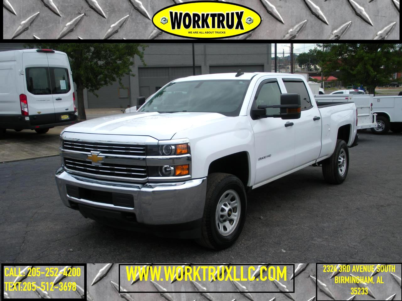 "2015 Chevrolet Silverado 2500HD Built After Aug 14 2WD Crew Cab 153.7"" Work Truck"
