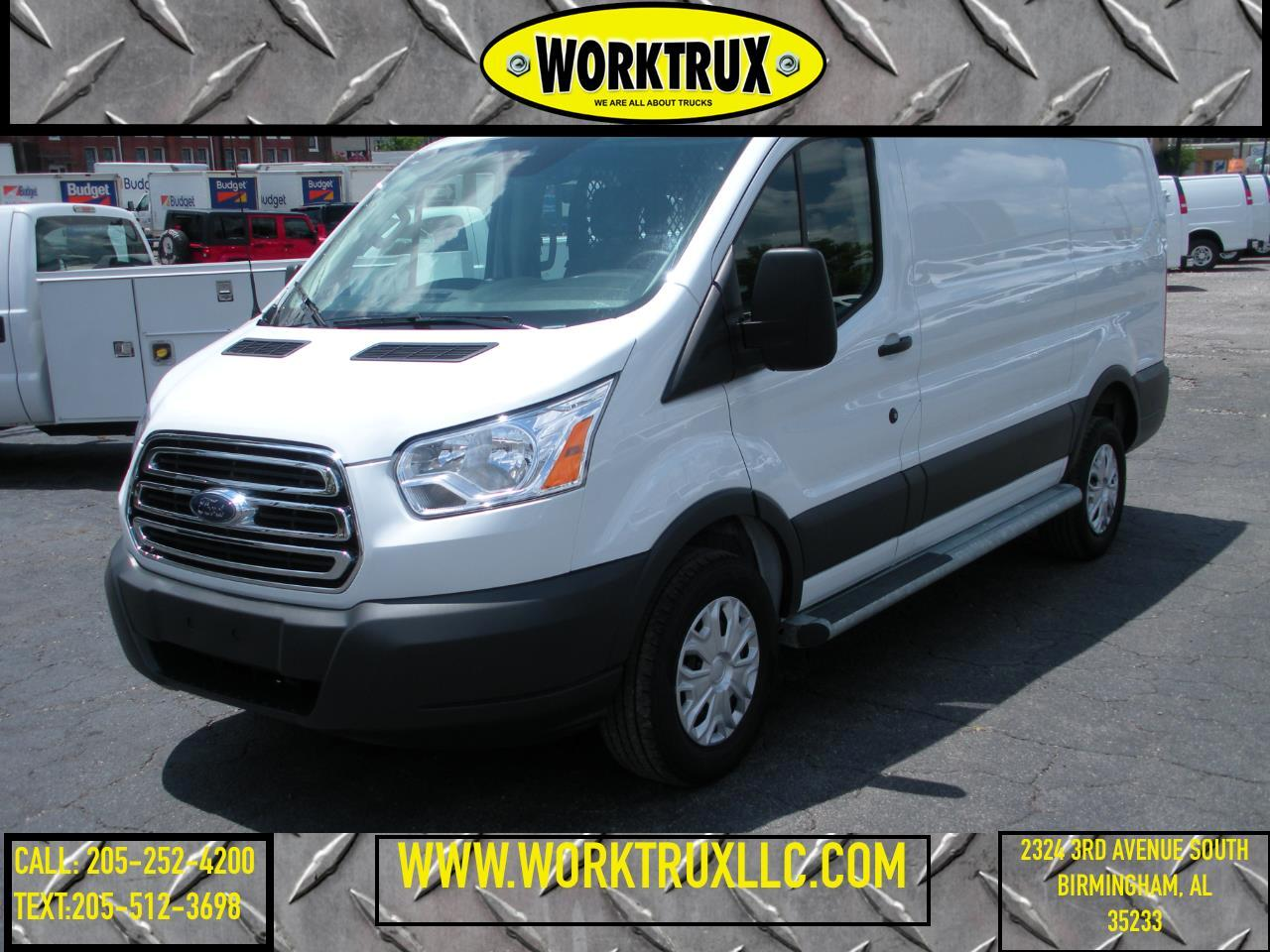"2018 Ford Transit Van T-250 130"" Low Rf 9000 GVWR Swing-Out RH Dr"