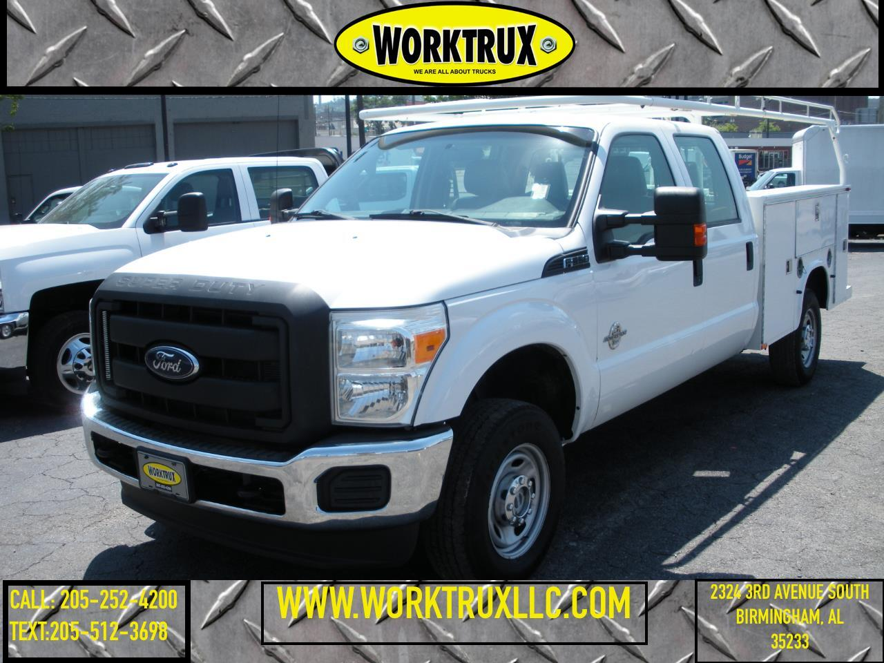 2012 Ford Super Duty F-350 SRW 4WD Crew Cab 156