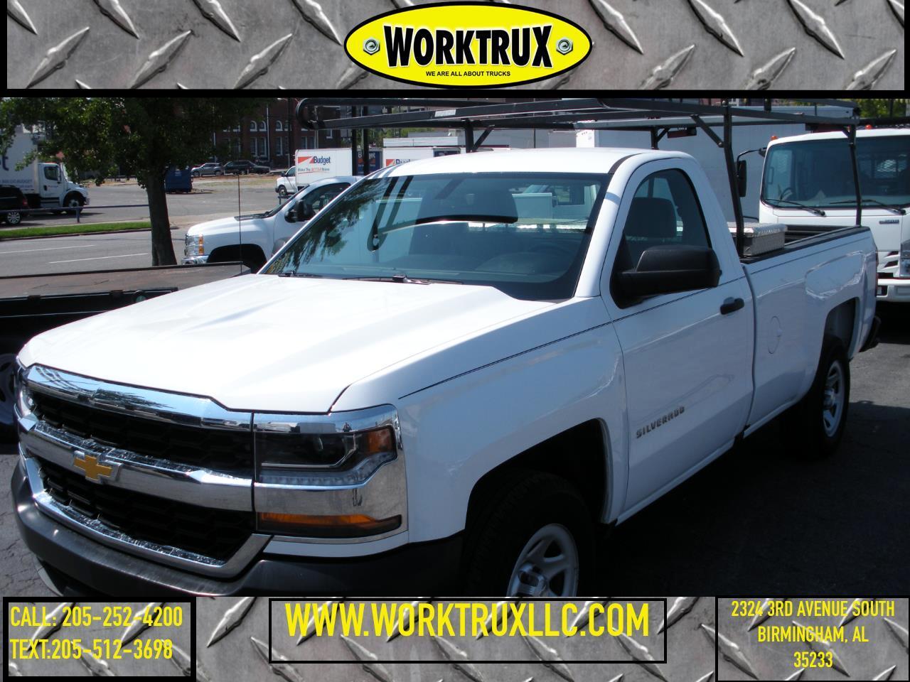 """Chevrolet Silverado 1500 2WD Reg Cab 133.0"""" Work Truck 2017"""