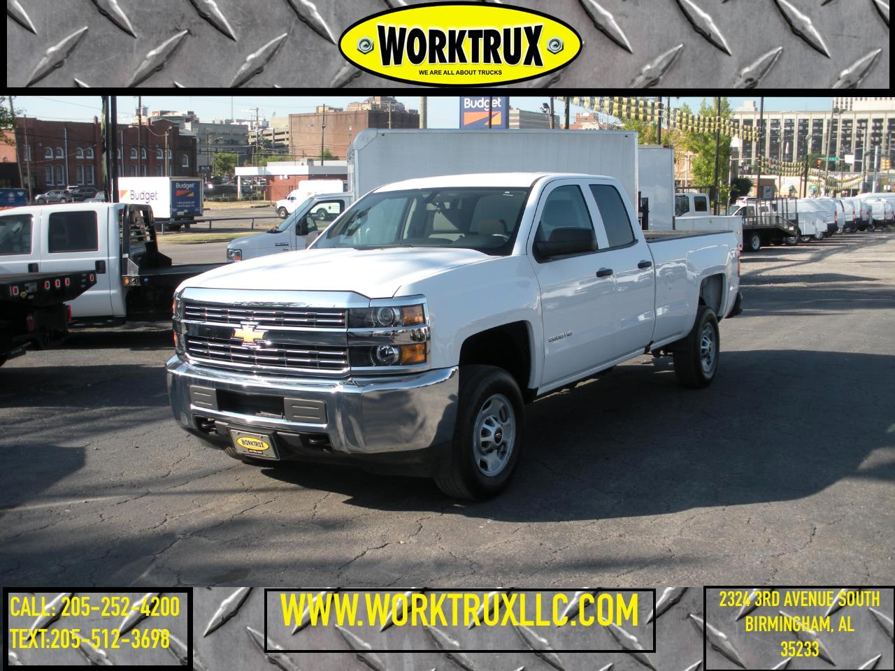 "Chevrolet Silverado 2500HD 2WD Double Cab 158.1"" Work Truck 2018"