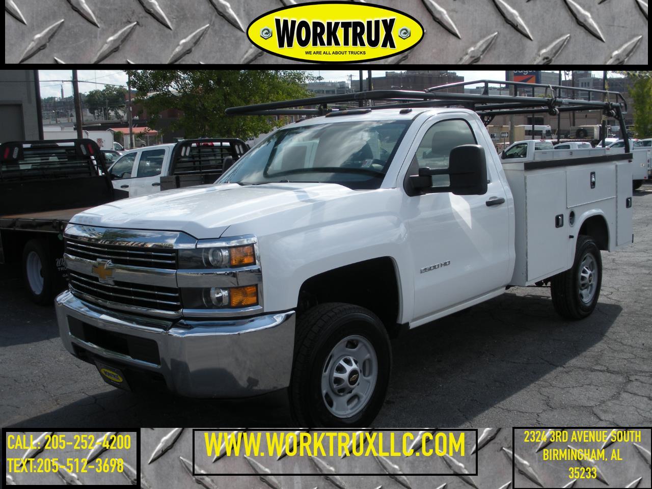 """2016 Chevrolet Silverado 2500HD 2WD Reg Cab 133.6"""" Work Truck"""