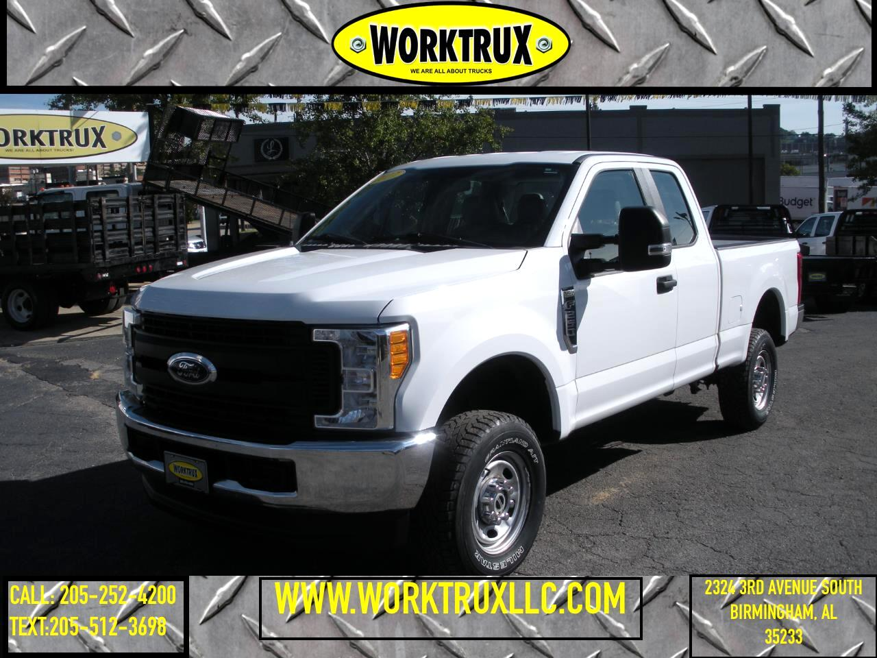 Ford Super Duty F-250 SRW XL 4WD SuperCab 6.75' Box 2017