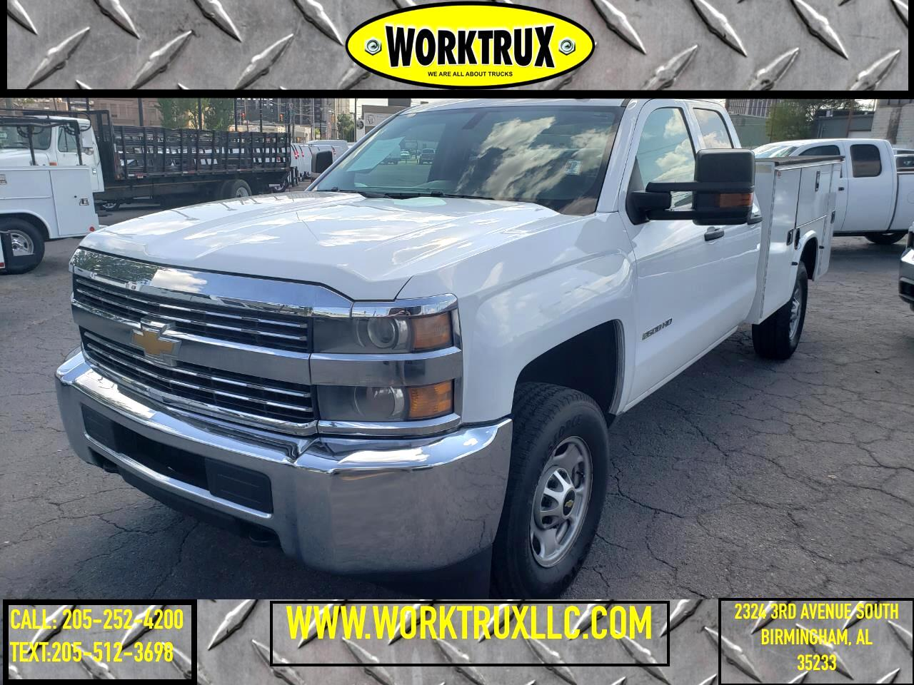 """Chevrolet Silverado 2500HD Built After Aug 14 4WD Double Cab 158.1"""" Work Truck 2015"""