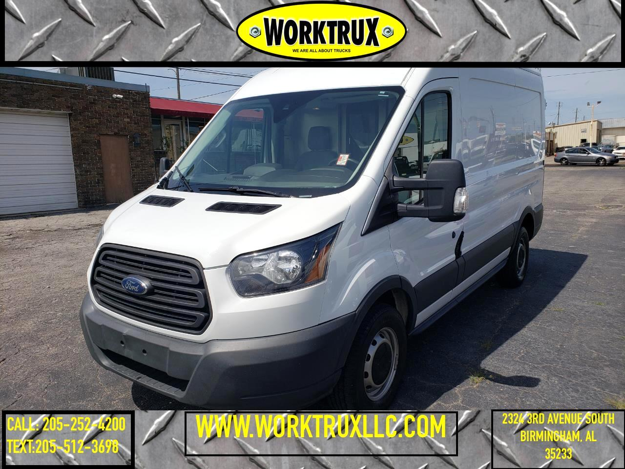 "Ford Transit Cargo Van T-250 130"" Med Rf 9000 GVWR Sliding RH Dr 2016"