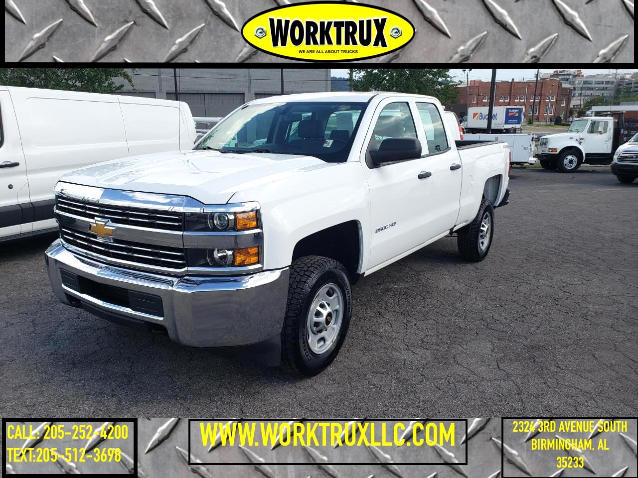 "Chevrolet Silverado 2500HD 4WD Double Cab 144.2"" Work Truck 2016"
