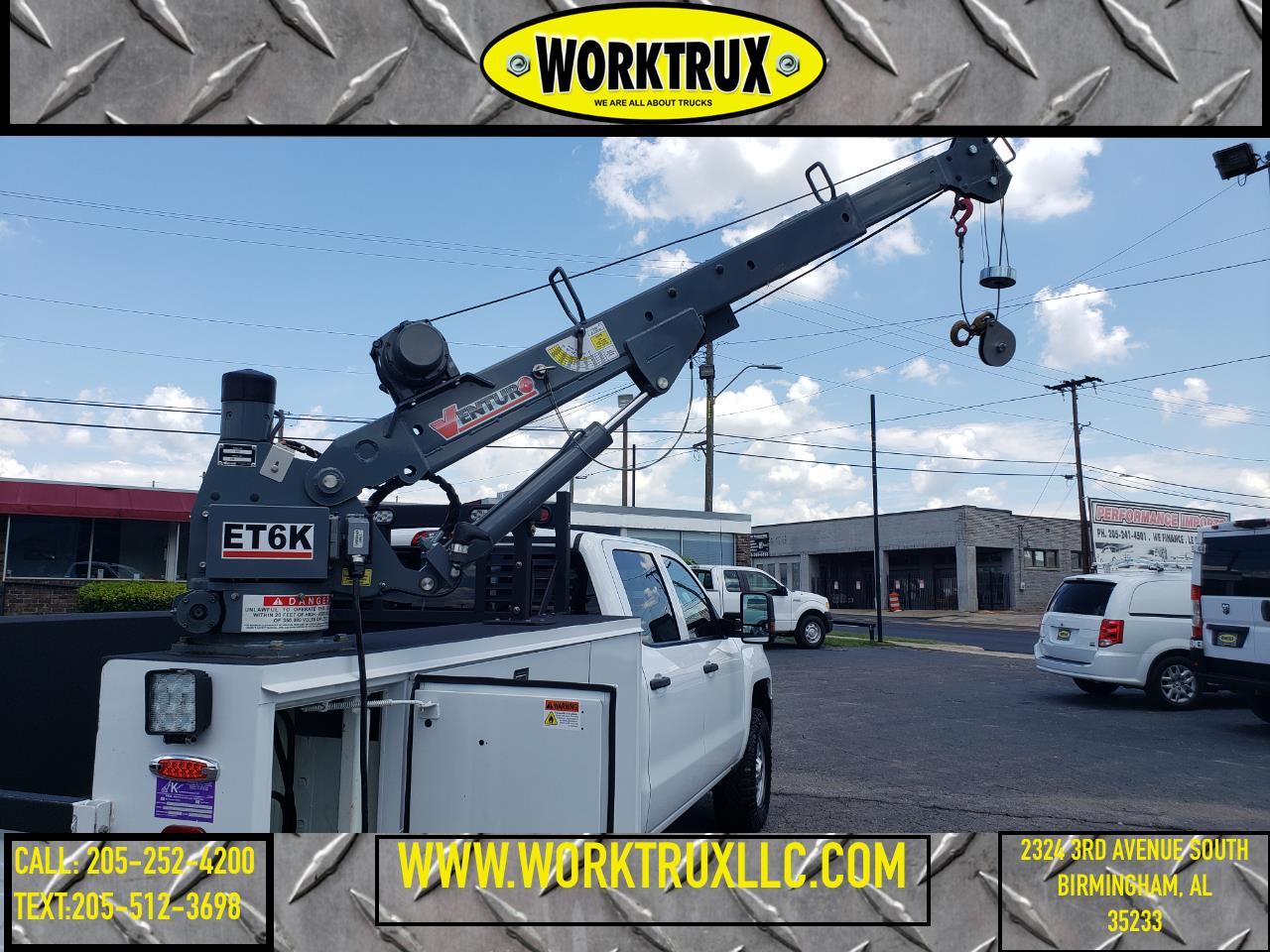 "Chevrolet Silverado 2500HD 4WD Crew Cab 167.7"" Work Truck 2018"