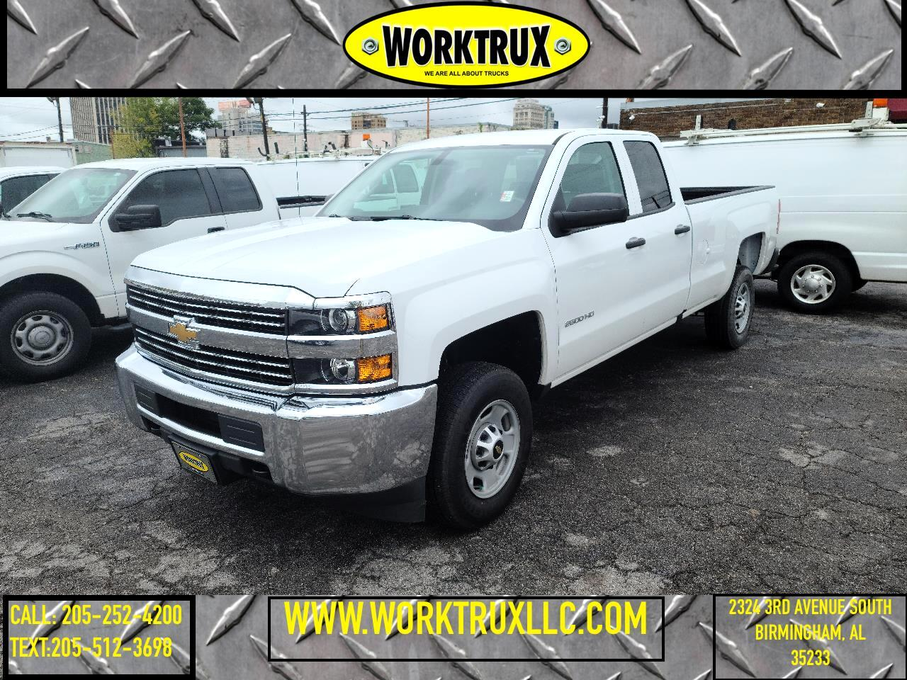 "Chevrolet Silverado 2500HD 2WD Double Cab 158.1"" Work Truck 2018"
