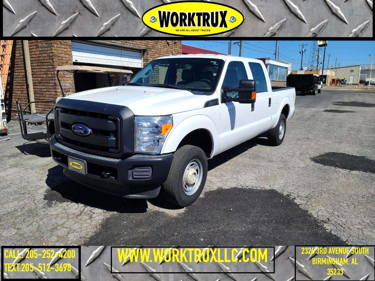 "Ford Super Duty F-250 SRW 2WD Crew Cab 172"" XL 2016"