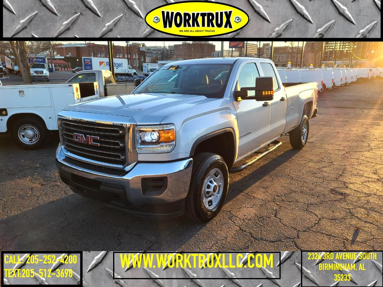 "GMC Sierra 2500HD 2WD Double Cab 158.1"" 2019"