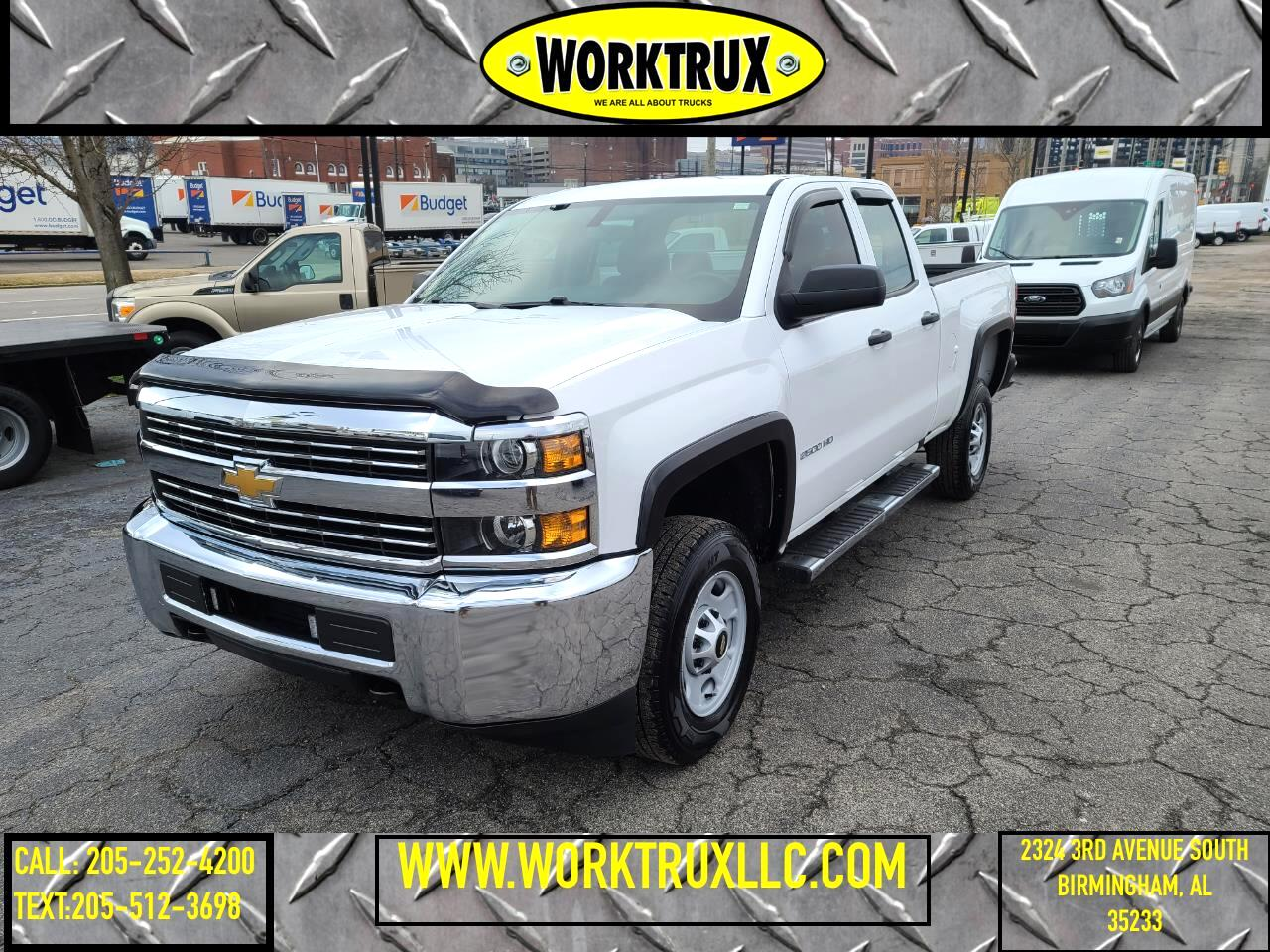 "Chevrolet Silverado 2500HD 2WD Double Cab 144.2"" Work Truck 2018"