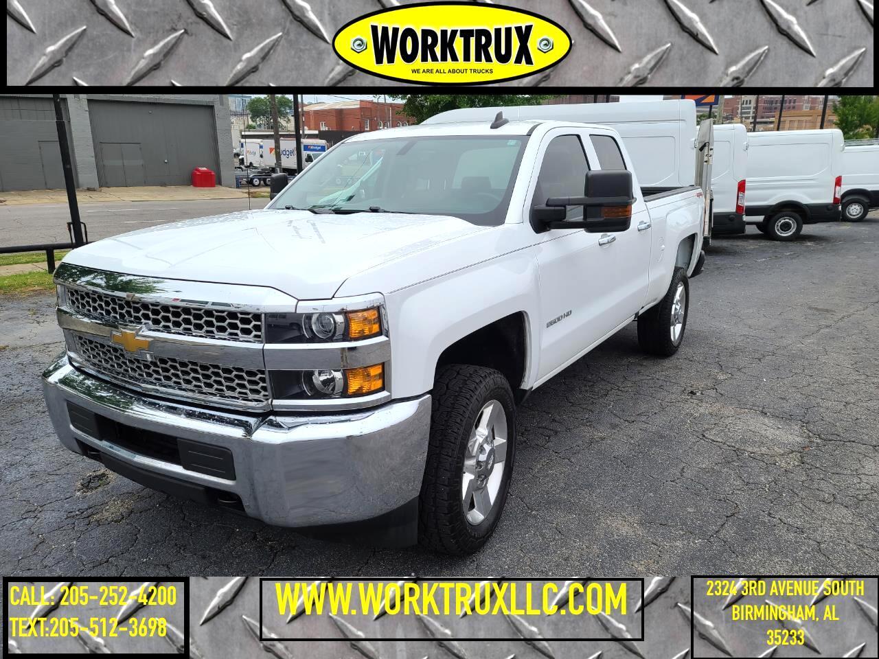 "Chevrolet Silverado 2500HD 4WD Double Cab 144.2"" Work Truck 2019"