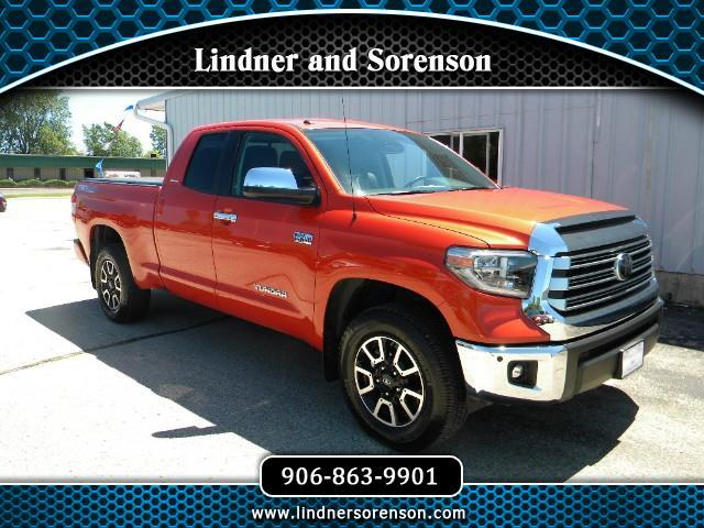 2018 Toyota Tundra Limited 5.7L FFV Double Cab 4WD