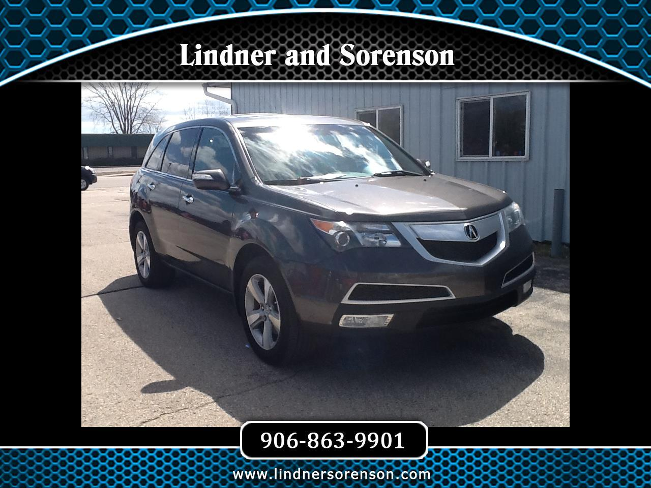 Acura MDX 6-Spd AT 2012