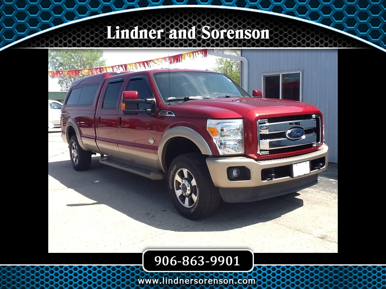 2013 Ford F-250 SD King Ranch Crew Cab 4WD