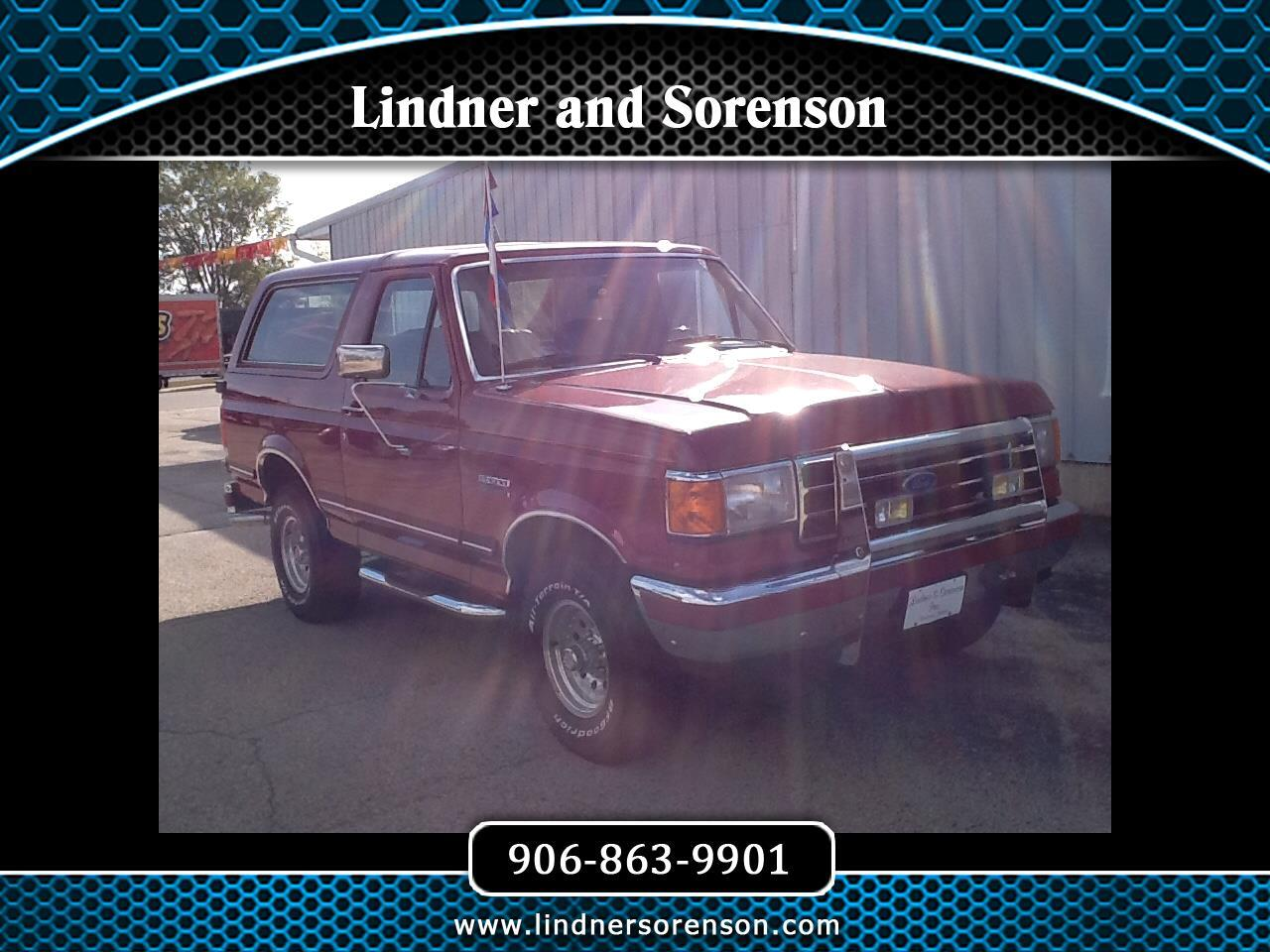 Ford Bronco  1991