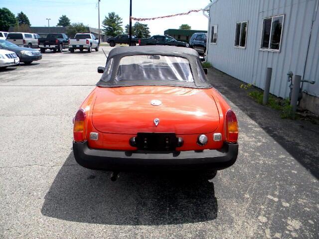1979 MGB Convertible