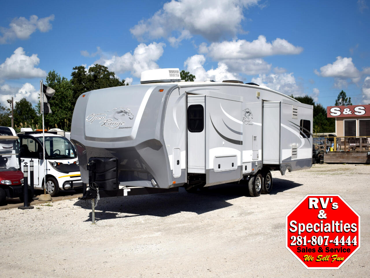 2013 Open Range RV Journeyer 337RLS