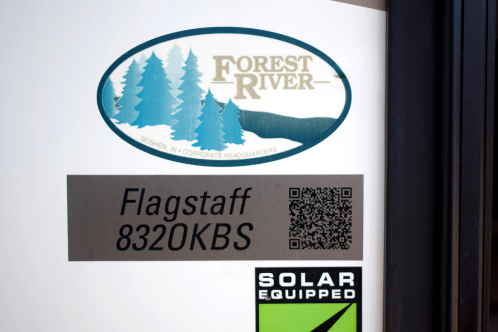 2017 Forest River Flagstaff 8320KBS