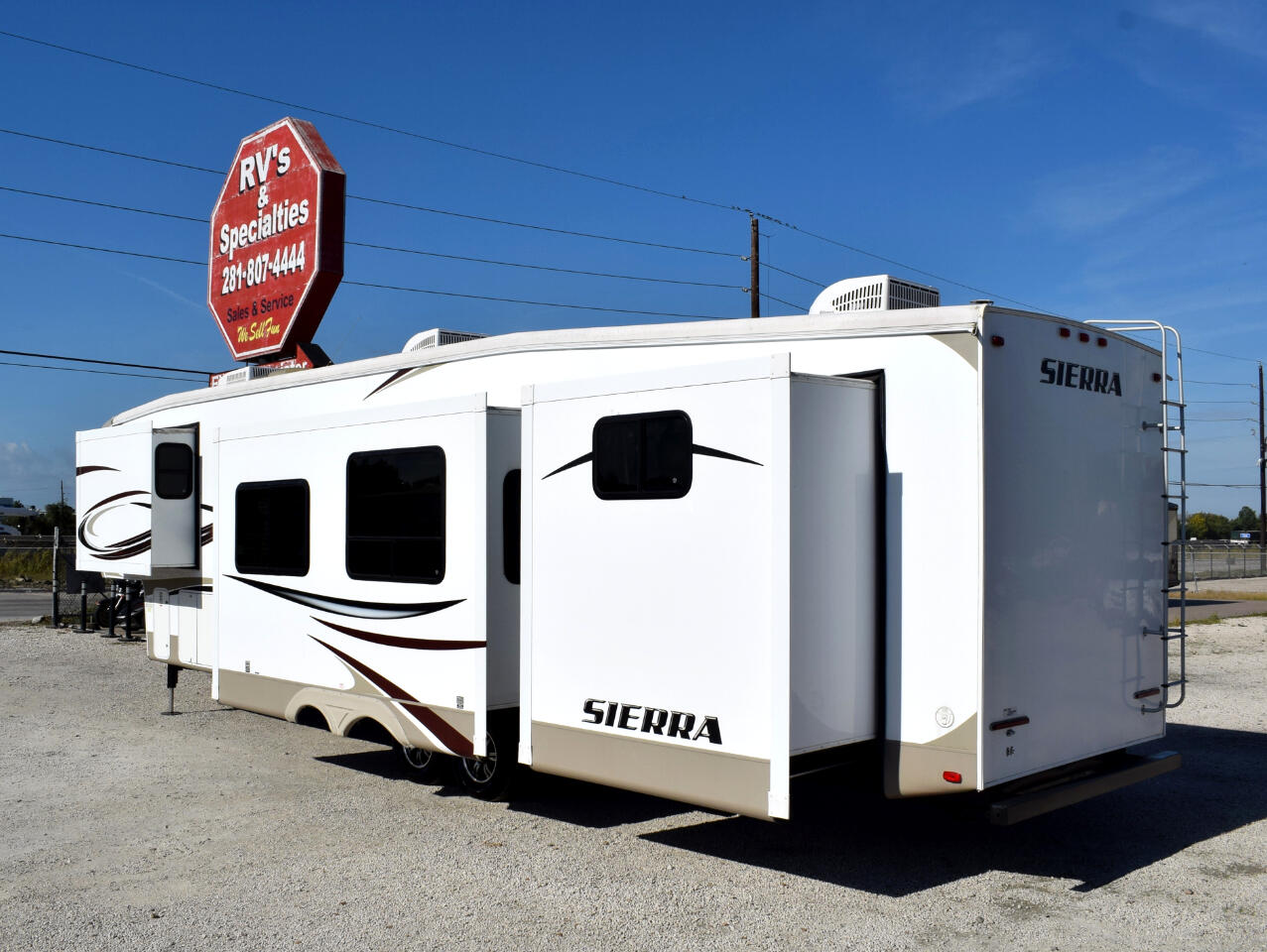 2014 Forest River Sierra 365SAQ