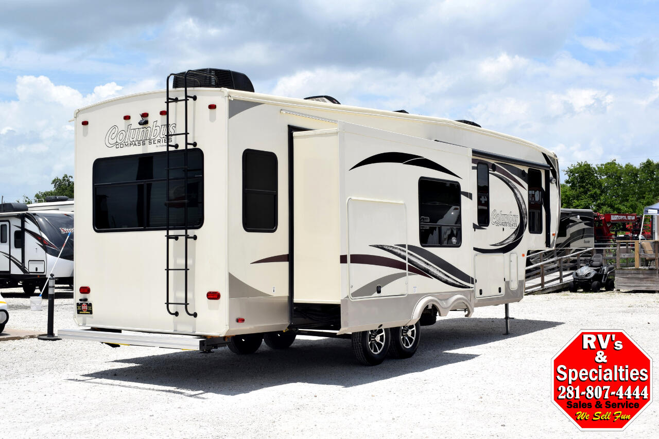 Used 2017 Palomino Columbus 298rl For Sale In Houston Tx
