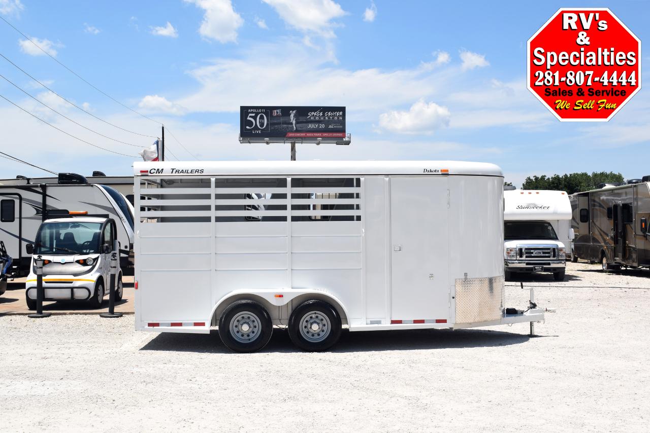 2018 CM Dakota 3 Horse Bumper Pull