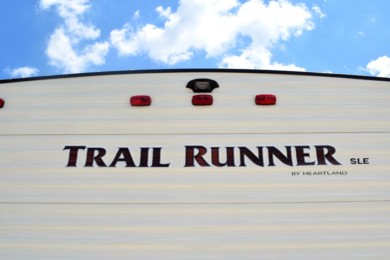 2018 Heartland Trail Runner 25SLE