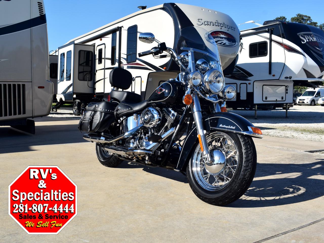 2012 Harley-Davidson Heritage Softail FLSTCI
