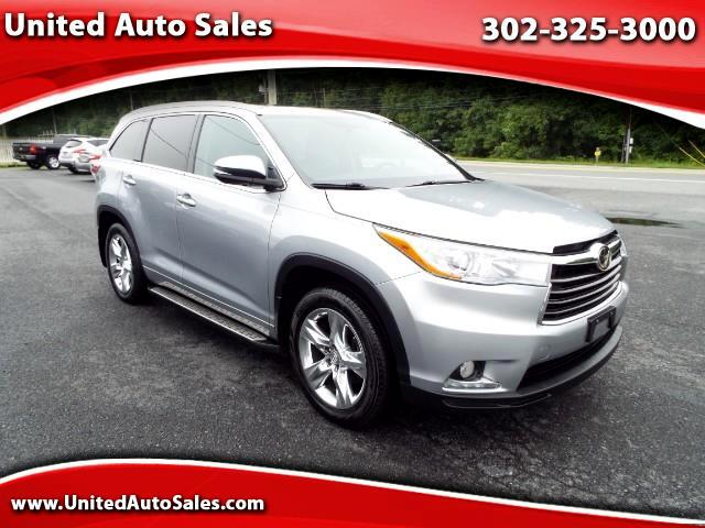 2014 Toyota Highlander Limited Platinum AWD