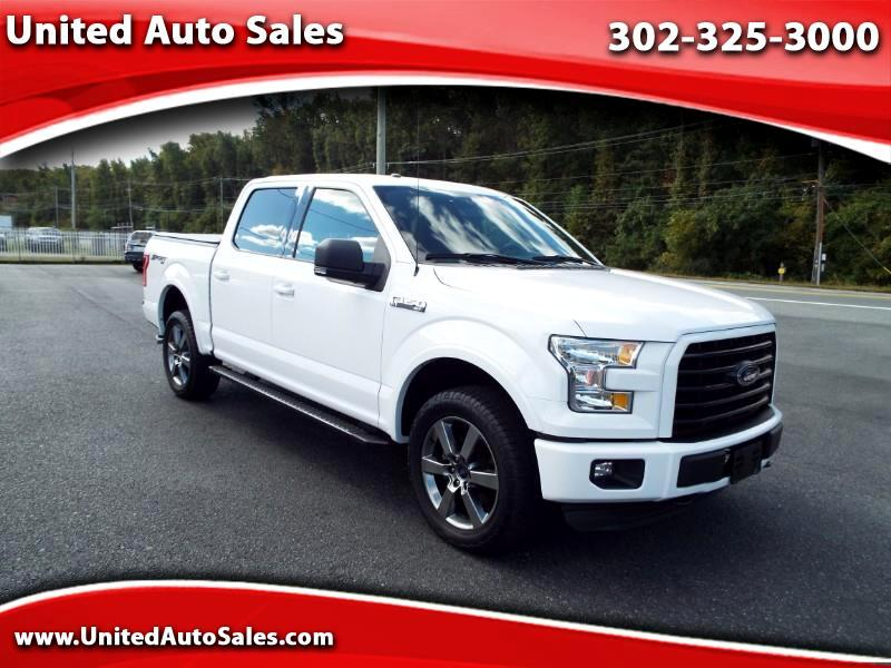 2015 Ford F-150 XLT SuperCrew 5.5-ft Bed 4WD