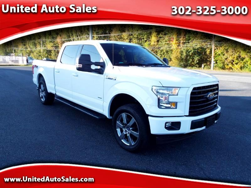2017 Ford F-150 XLT SuperCrew 6.5-ft Bed 4WD FX4
