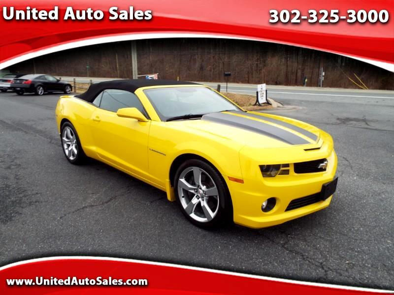 2012 Chevrolet Camaro 2SS RS Convertible