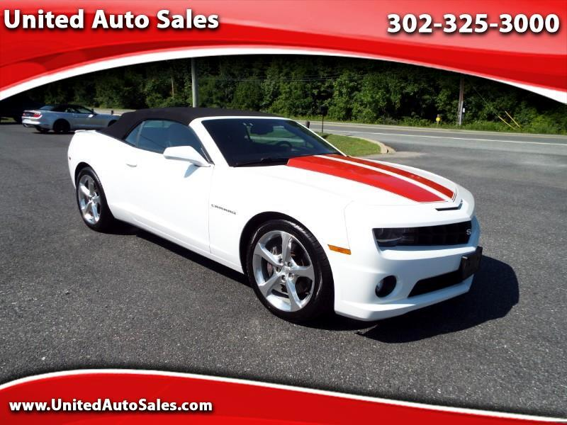 2012 Chevrolet Camaro 1SS RS Convertible