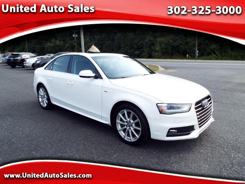 2016 Audi A4 2.0T Premium Plus Quattro AWD Sedan
