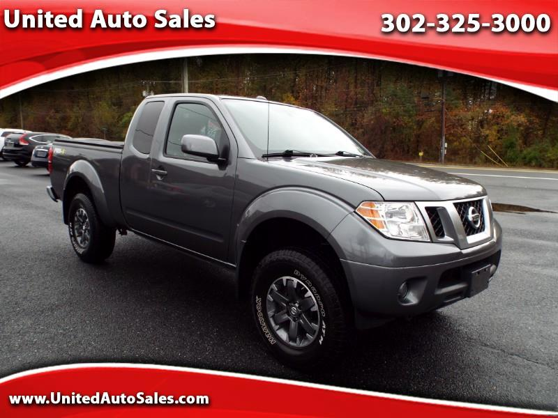 2017 Nissan Frontier PRO-4X King Cab 4WD