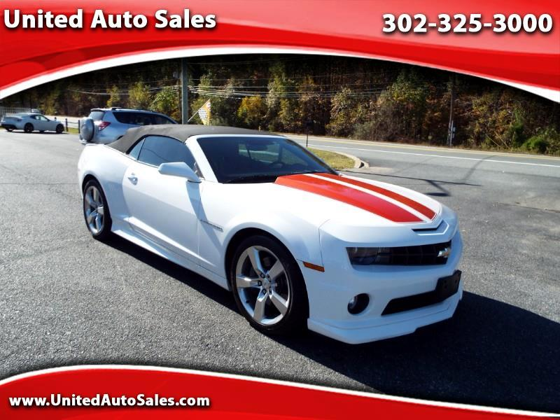2013 Chevrolet Camaro 2SS RS Convertible