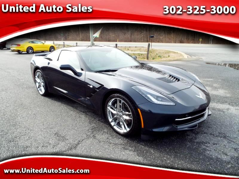 Chevrolet Corvette 2LT Coupe Manual 2016