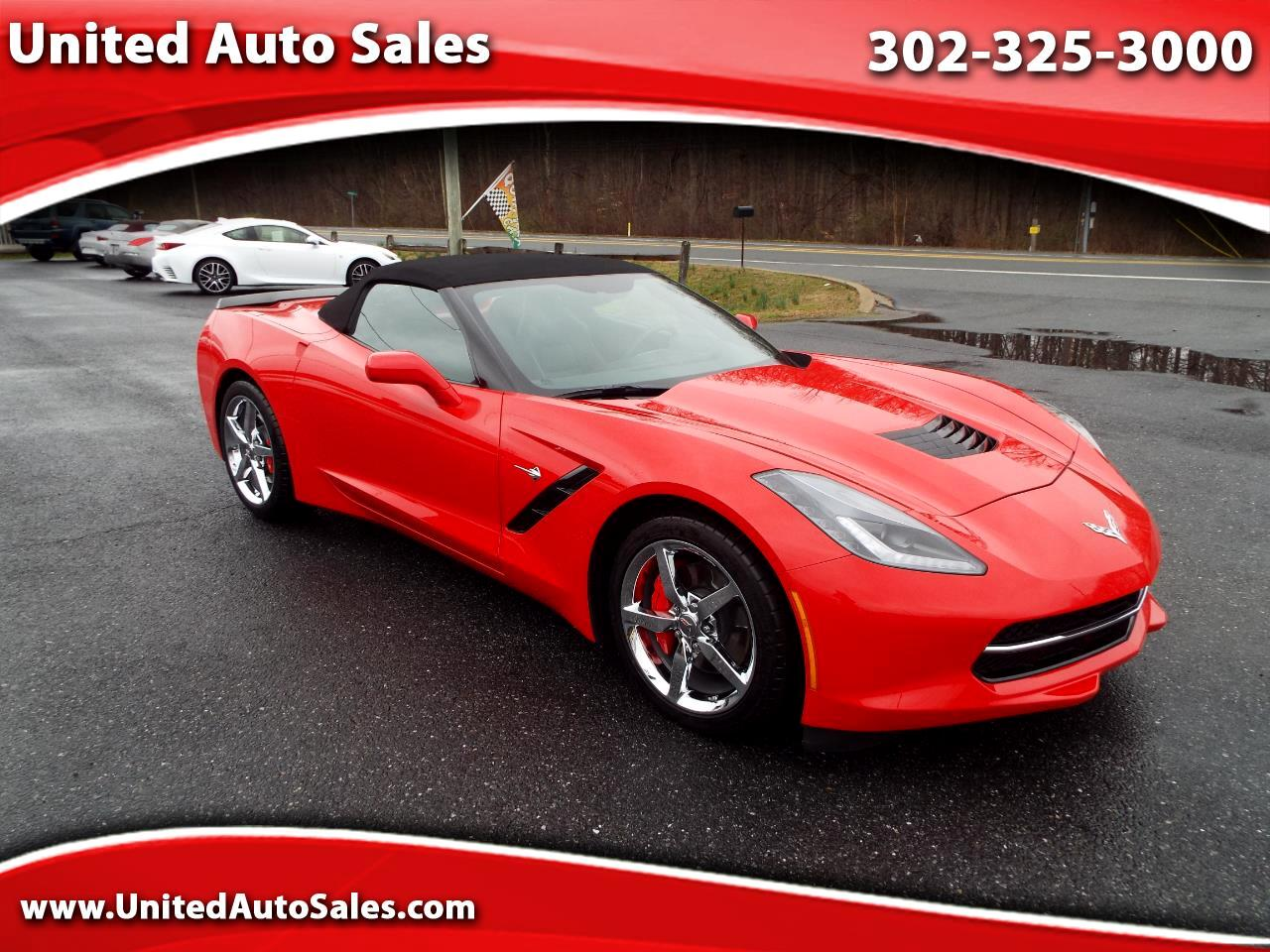 Chevrolet Corvette Stingray 1LT Convertible 2014