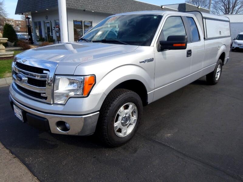 2014 Ford F-150 SuperCab XLT 2WD Pickup 8' Box ARE Utility Topper