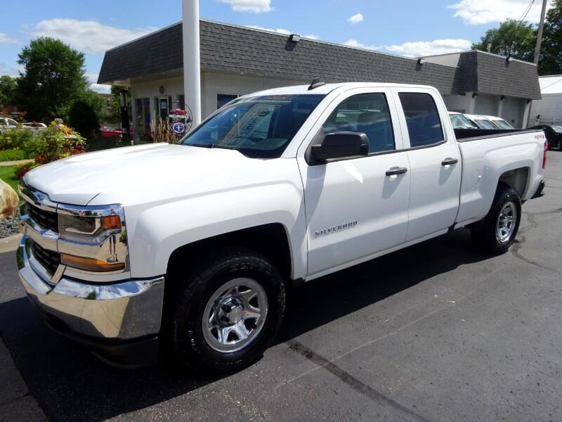 2016 Chevrolet Silverado 1500 Double Cab LS Pick-Up 4WD
