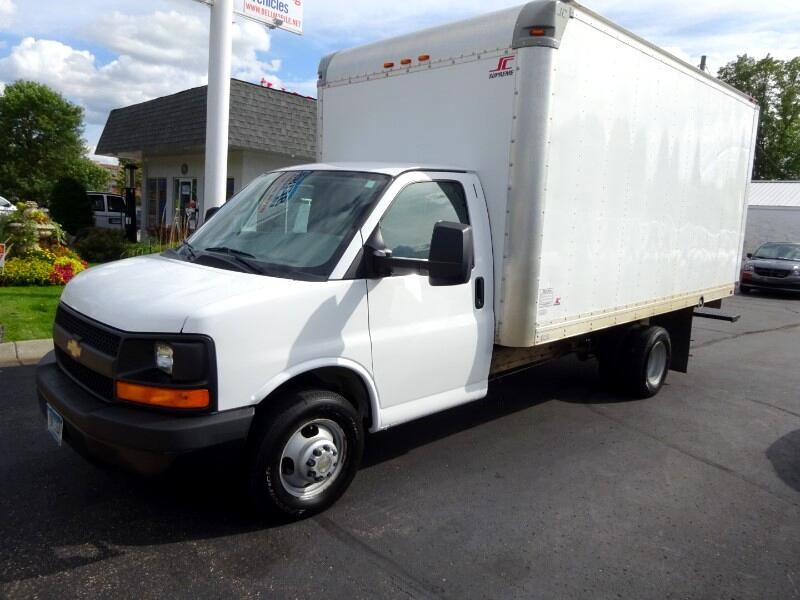 2014 Chevrolet Express 3500 Cube Van 16ft. Supreme Box