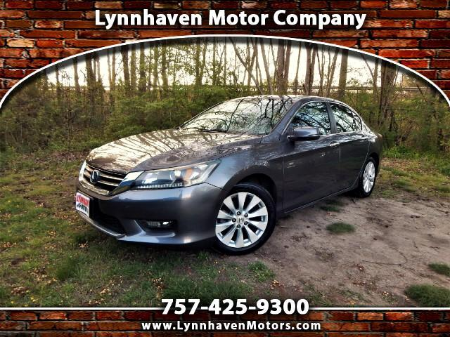 2015 Honda Accord Power Sunroof, Rear & Side View Cameras, 22k Miles