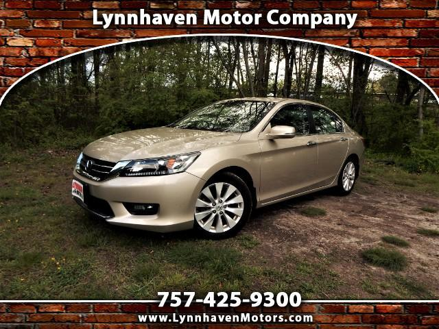 2015 Honda Accord Power Sunroof, Rear & Side View Cameras, 25k Miles