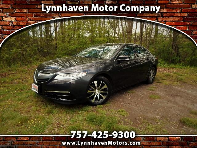 2015 Acura TLX 2.4L, Leather Interior, Power Sunroof, 26k Miles!