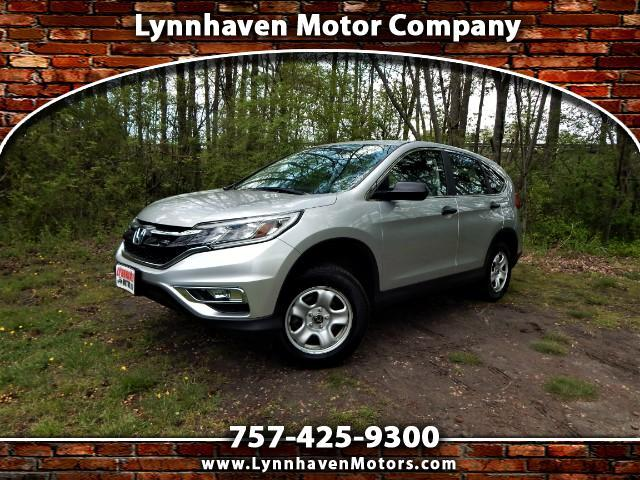 2015 Honda CR-V 4WD, Rear View Camera, Bluetooth, 23k Miles!